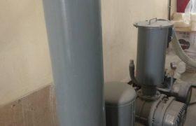 Линия по нарезке V-образных салфеток - вакуумный насос роторного типа